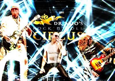 Ein Konzert von Dr. Woo's Rock'n'Roll Circus